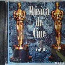 CDs de Música: CD. MÚSICA DE CINE VOLUMEN, 9,- CON 8 TEMAS.. Lote 107990967
