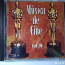 CDs de Música: CD. MÚSICA DE CINE VOLUMEN, 19,- CON 8 TEMAS.. Lote 107991331