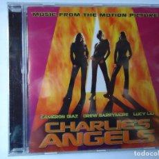 CDs de Música: CD. BANDA SONORA DE LA PELÍCULA CHARLIE`S ANGELS, CON 15 TEMAS.. Lote 107993475