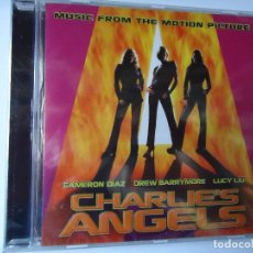 CDs de Música: CD. BANDA SONORA DE LA PELÍCULA CHARLIE`S ANGELS, CON 15 TEMAS.. Lote 107994379