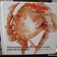 CDs de Música: FERNANDO DE LAMORENA - JEREZ DE LA MORENA - CD TAPAS DURAS DE CARTON CON LIBRETO EL PAIS PEPETO. Lote 108000483