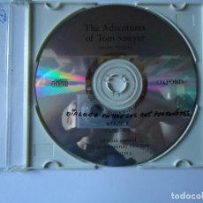 CDs de Música: CD. THE AVENTURES OF TOM SAWYER, DE MARK TWAIN, STAGE 1,- OXFORD UNIVERSITY 2000.. Lote 108001483
