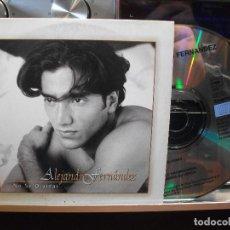 CDs de Música: CD SINGLE PROMO CARTON - ALEJANDRO FERNANDEZ -NO SE OLVIDAR. Lote 108004319