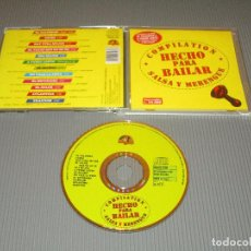 CDs de Música: COMPILATION HECHO PARA BAILAR - CD - DGCD 236 - DUCK RECORD - SALSA Y MERENGUE. Lote 108013447