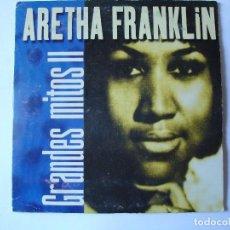CDs de Música: CD. ARETHA FRANKLIN, COLECCIÓN GRANDES MITOS II. CON 5 TEMAS.. Lote 108016083