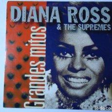CDs de Música: CD. DIANA ROSS Y THE SUPREMES, COLECCIÓN GRANDES MITOS, CON 5 TEMAS.. Lote 108016439
