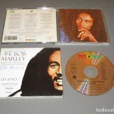 CDs de Música: LA LEYENDA CONTINUA ... BOB MARLEY AND THE WAILERS ( THE BEST OF LEGEND I ) - CD - TUFF GONG. Lote 108016543