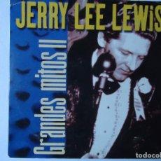 CDs de Música: CD. JERRY LEE LEWIS, COLECCIÓN GRANDES MITOS II CON 5 TEMAS.. Lote 108016835