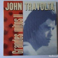 CDs de Música: CD. JOHN TRAVOLTA, COLECCIÓN GRANDES MITOS II CON 5 TEMAS.. Lote 108017783