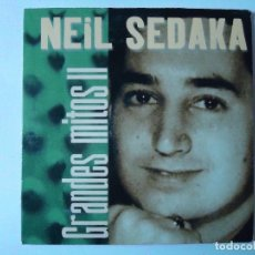 CDs de Música: CD. NEIL SEDAKA, COLECCIÓN GRANDES MITOS II CON 5 TEMAS.. Lote 108018087
