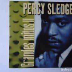 CDs de Música: CD. PERCY SLEDGE, COLECCIÓN GRANDES MITOS II CON 5 TEMAS.. Lote 108018259