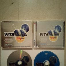 CD de Música: DOBLE CD + DVD ORIGINAL - ES VITAMINA N - CATALUÑA - CITY TV -. Lote 108028175