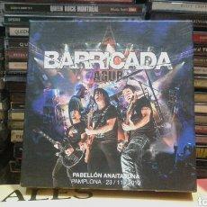 CDs de Música: BARRICADA AGUR - PABELLÓN ANAITASUNA PAMPLONA 23-11-13. Lote 108045334