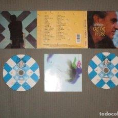 CDs de Música: LO MEJOR DE CAETANO VELOSO - 2 CD - 8431588802021 - FREQUENCY - RUMBA AZUL - NADA - LA BARCA .... Lote 108052543