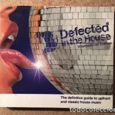 CDs de Música: DEFECTED IN THE HOUSE - INTERNATIONAL EDITION - SIMON DUNMORE - DOBLE CD. Lote 108082435