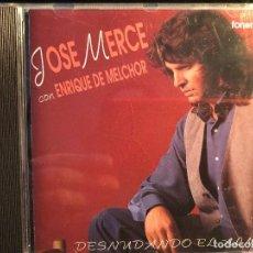 CDs de Música: JOSÉ MERCÉ DESNUDANDO EL ALMA. Lote 108266855