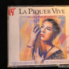 CDs de Música: LA PIQUER VIVE 26 CANCIONES 2 CD CONCHA PIQUER. Lote 108268243