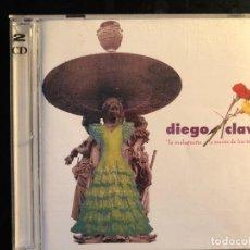 CDs de Música: DIEGO CLAVEL LA MALAGUEÑA A TRAVÉS DE LOS TIEMPOS 2 CD. Lote 108268483