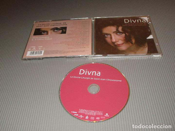DIVNA ( LA DIVINE LITURGIE DE SAINT JEAN CHRYSOSTOME ) - CD - 301 707-9 - WARNER MUSIC (Música - CD's Clásica, Ópera, Zarzuela y Marchas)