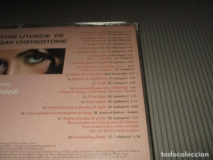 CDs de Música: DIVNA ( LA DIVINE LITURGIE DE SAINT JEAN CHRYSOSTOME ) - CD - 301 707-9 - WARNER MUSIC - Foto 4 - 108275179
