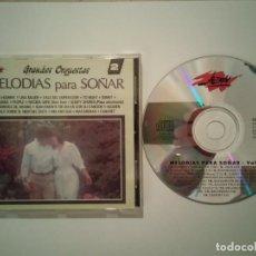 CDs de Música: CD ORIGINAL - MELODIAS PARA SOÑAR - RELAJANTE - AMBIENTAL - GRANDES ORQUESTAS 2. Lote 108285007