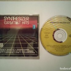CDs de Música: CD ORIGINAL - SYNTHESIZER GREATEST HITS 1 1992 - RELAJANTE - AMBIENTAL - OXIGENE - DUNE. Lote 108285031