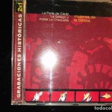 CDs de Música: MUJERES DE LA BÉTICA GRABACIONES HISTÓRICAS. Lote 108331455