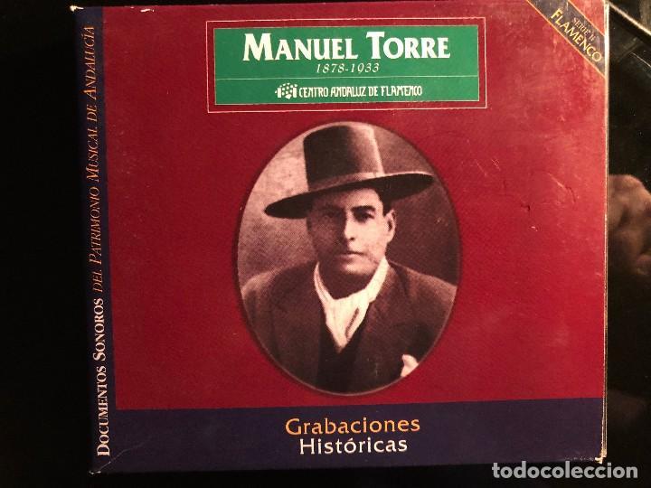 MANUEL TORRE GRABACIONES HISTÓRICAS 1909-1931 2 CD (Música - CD's Flamenco, Canción española y Cuplé)