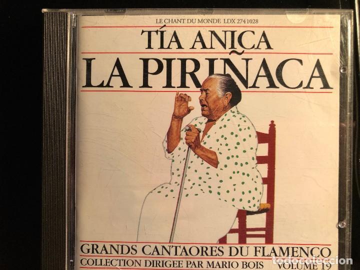 TÍA ANICA LA PIRIÑACA GRANDS CANTAORES DU FLAMENCO (Música - CD's Flamenco, Canción española y Cuplé)