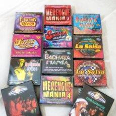 CDs de Música: LOTE 10 CDS TRIPLES / CUADRUPLES (37 CDS EN TOTAL) MERENGUE - SALSA - BACHATA - CUBANO.. Lote 108363971