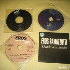 CDs de Música: EROS RAMAZZOTTI - LOTE DE 4 CDS PROMO . Lote 108372675