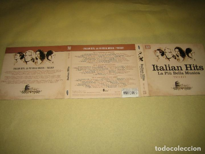 ITALIAN HITS - TRIPLE CD (Música - CD's Otros Estilos)