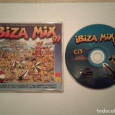 CDs de Música: CD SINGLE ORIGINAL - MIX 99 - IBIZA - DISCO MAQUINA DANCE - HOUSE. Lote 108417739