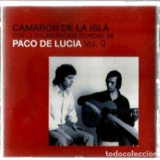 CDs de Música: CD CAMARON DE LA ISLA ( COLABORACION ESPECIAL PACO DE LUCIA ) VOL. 9 . Lote 108443339
