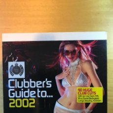 CDs de Música: CLUBBER'S GUIDE TO ... 2002. Lote 108477059