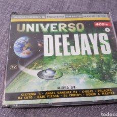 CDs de Música: UNIVERSO DEEJAYS. 4 CDS. Lote 108670296