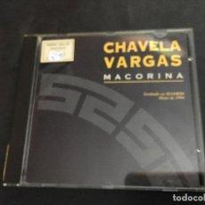 CDs de Música: CHAVELA VARGAS (MACORINA) CD 11 TRACK (CDI14). Lote 108673971