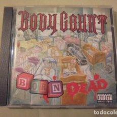 CDs de Música: BODY COUNT / BORN DEAD - ICE T / 1994 ISLAND - COMO NUEVO APENAS USADO. Lote 108679043