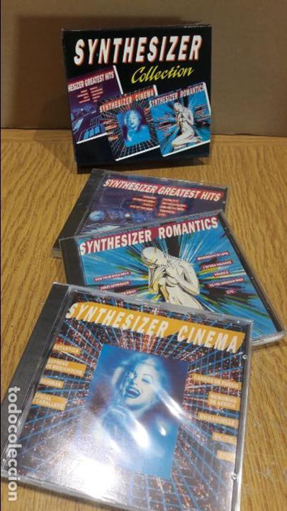 SYNTHESIZER COLLECTION / 3 CD-SET / 42 TEMAS / CDS PRECINTADOS. (Música - CD's New age)