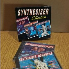 CDs de Música: SYNTHESIZER COLLECTION / 3 CD-SET / 42 TEMAS / CDS PRECINTADOS.. Lote 108680035