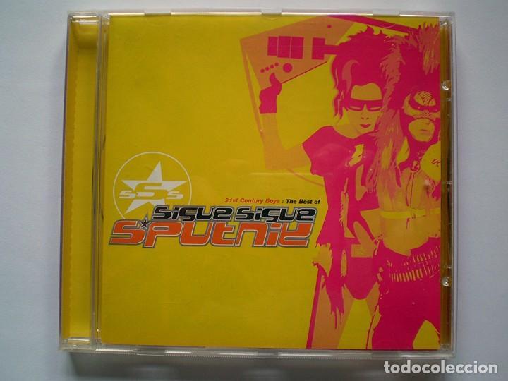 SIGUE SIGUE SPUTNIK: 21ST CENTURY BOYS: THE BEST OF (CD) IMPECABLE (Música - CD's Techno)
