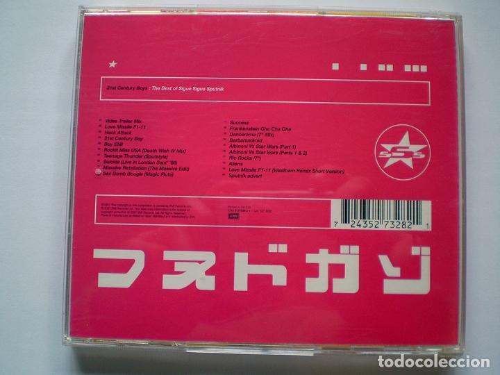 CDs de Música: Sigue Sigue Sputnik: 21st Century Boys: The Best of (CD) impecable - Foto 2 - 108709847