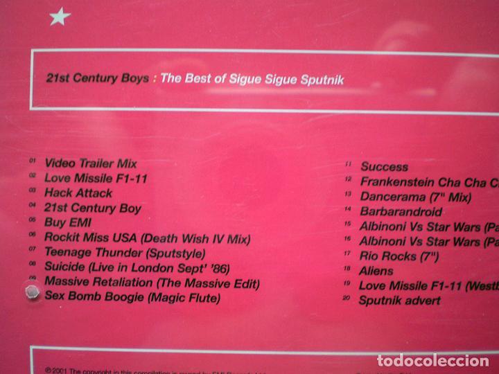 CDs de Música: Sigue Sigue Sputnik: 21st Century Boys: The Best of (CD) impecable - Foto 4 - 108709847