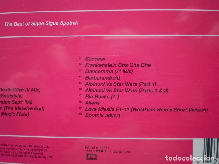 CDs de Música: Sigue Sigue Sputnik: 21st Century Boys: The Best of (CD) impecable - Foto 5 - 108709847