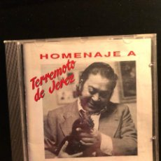 CDs de Música: HOMENAJE A TERREMOTO DE JEREZ. Lote 108735599