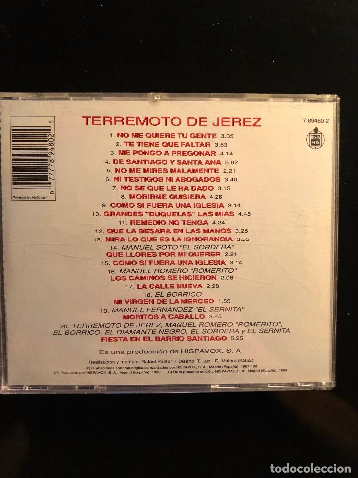 CDs de Música: Homenaje a Terremoto de Jerez - Foto 2 - 108735599