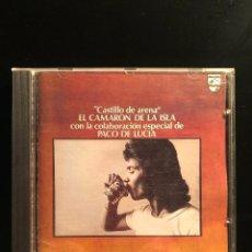 CDs de Música: CASTILLO DE ARENA CAMARÓN DE LA ISLA. Lote 108735935