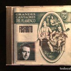 CDs de Música: FOSFORITO GRANDES CANTAORES DEL FLAMENCO. Lote 133448277