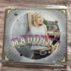 CDs de Música: MADONNA - WHAT IT FEELS LIKE FOR A GIRL *1 PR02461 GERMANY CD SINGLE PROMO. Lote 108752123
