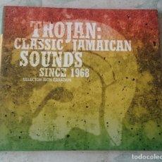 CDs de Música: TROJAN: CLASSIC JAMAICAN SOUNDS SINCE 1968 (TROJAN PIAS SINEDIN 2006). Lote 108767671